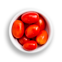 Nutritional image of grape tomato in build your own breakfast table