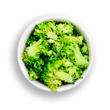 Nutritional image of (raw) broccoli