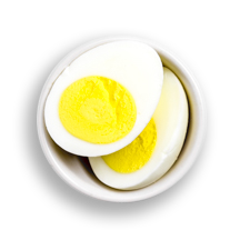 Nutritional image of 2 eggs any style in build your own breakfast table