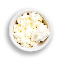Nutritional image of feta cheese in build your own breakfast table
