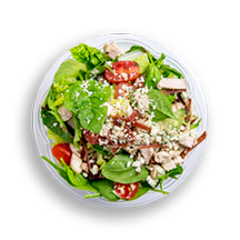 Nutritional image of california cobb salad in chef-designed salads table