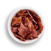 Nutritional image of turkey bacon in build your own breakfast table