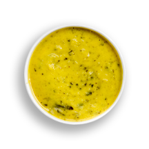 Nutritional image of broccoli cheddar/brussels sprouts & cheddar in the daily soups table
