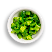 Nutritional image of jalapenos in build your own breakfast table