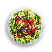 Nutritional image of santa fe salad in chef-designed salads table