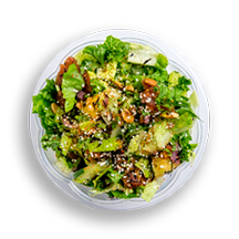 Nutritional image of mexican caesar salad in chef-designed salads table