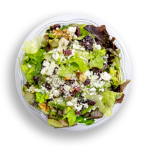 Nutritional image of south beach salad in chef-designed salads table