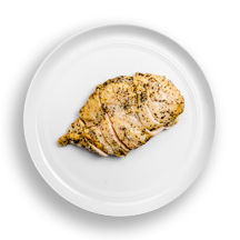 Nutritional image of chicken (freebird) in build your own breakfast table