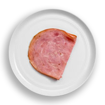 Nutritional image of turkey ham in build your own breakfast table