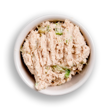Nutritional image of tuna in the build your own salad table